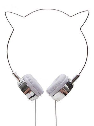 I love these Zara Martin x Skinnydip Kitty Headphones