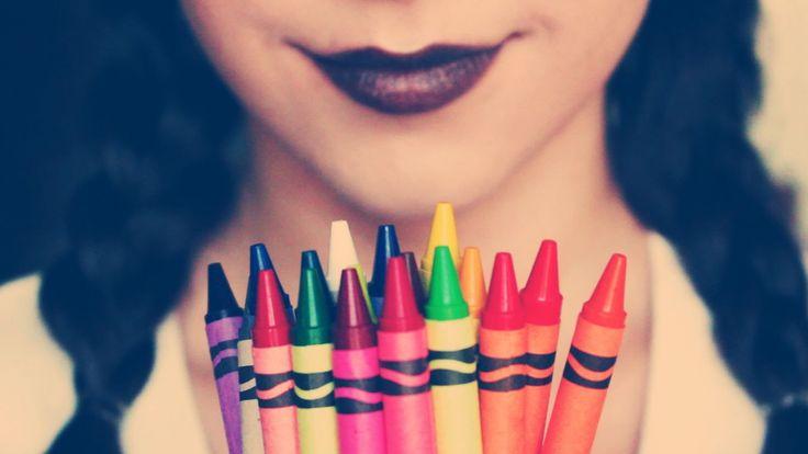 The secret ingredient: crayons!