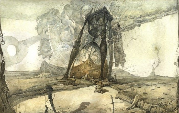 Yuri Laptev 1962 | Russian Surrealist artist