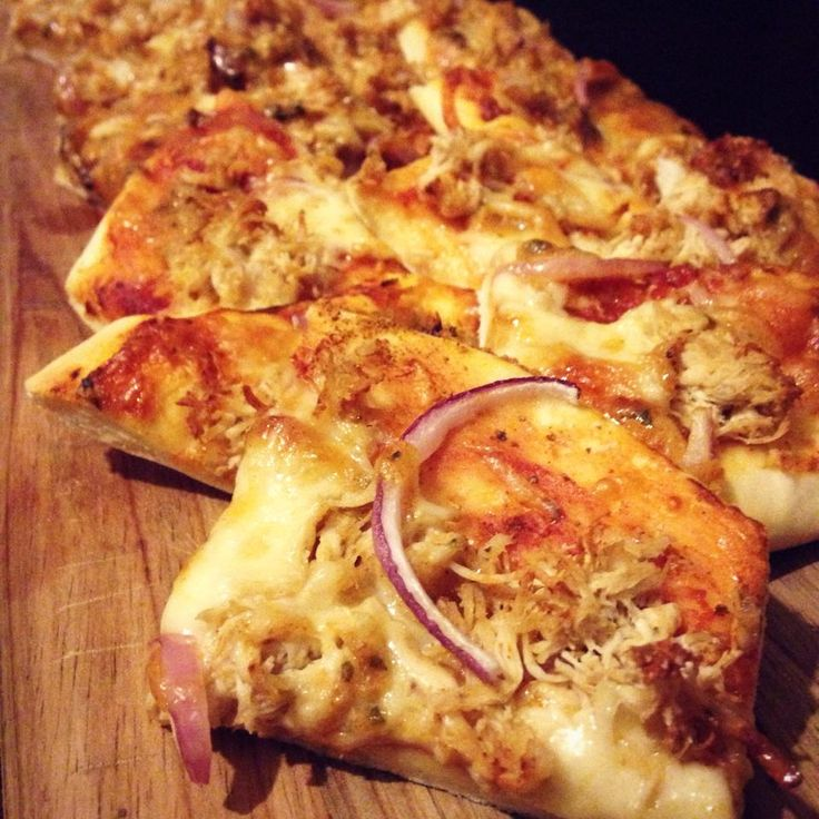 skinnymixer's Mexican Chicken Pizza