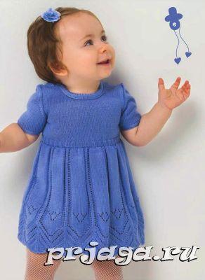 Вязание спицами детям до года