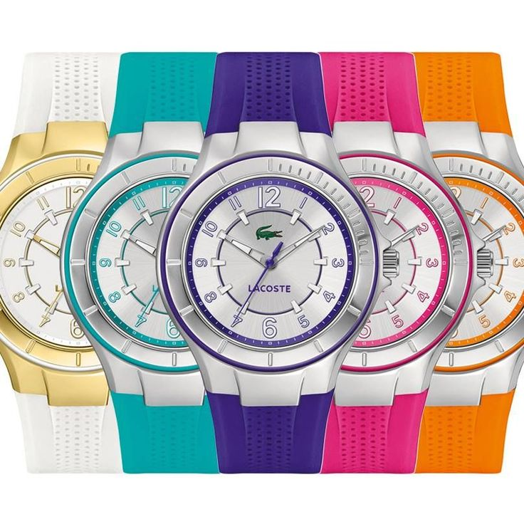Hodinky Lacoste, letné svieže farby. http://www.1010.sk/kategoria/hodinky-lacoste/