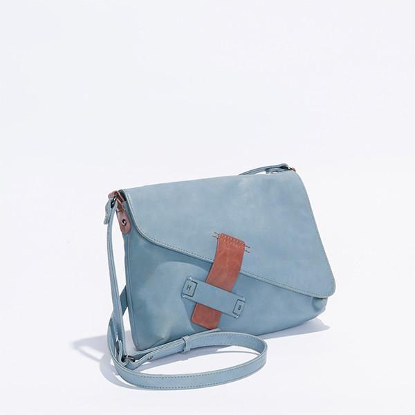 Harlequin Belle Dreamwalker Bag Ocean Leather #bags #leather #ocean #harlequinbelle #offspring #nina #proudman #blue