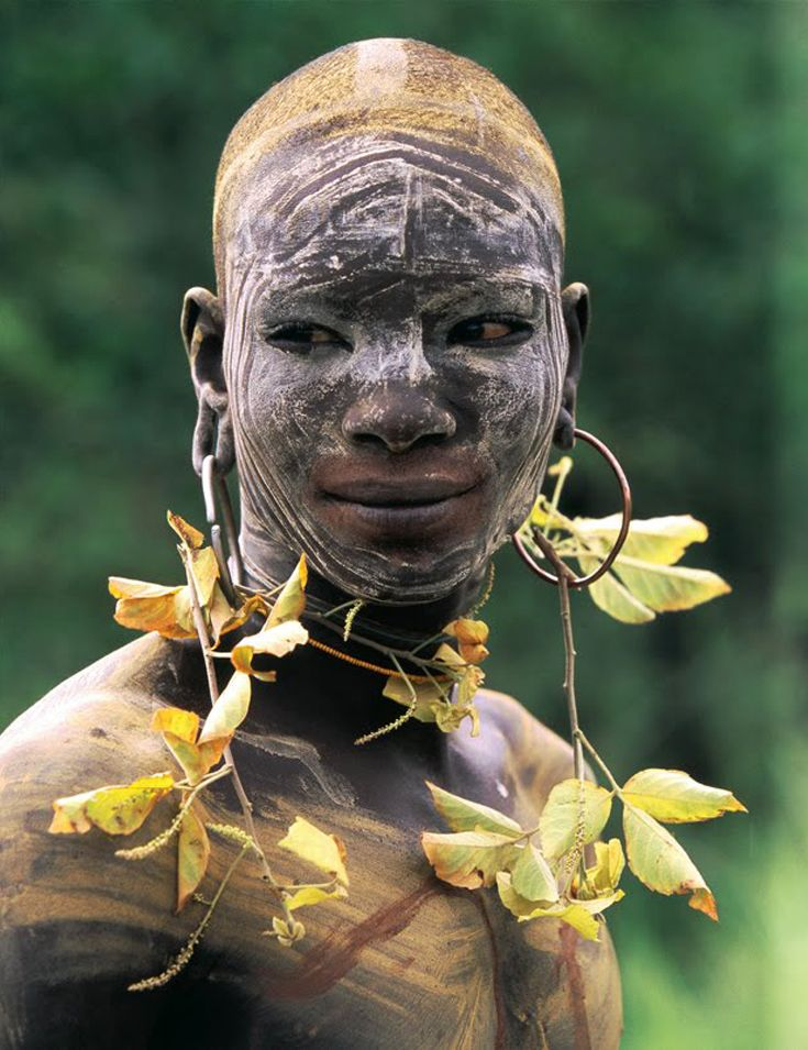 'Natural Fashion' In Omo Valley, Ethiopia by Hans Silvester.