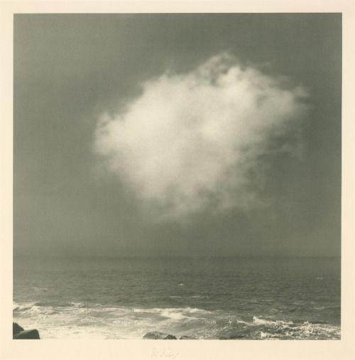 Gerhard Richter cloud painting.