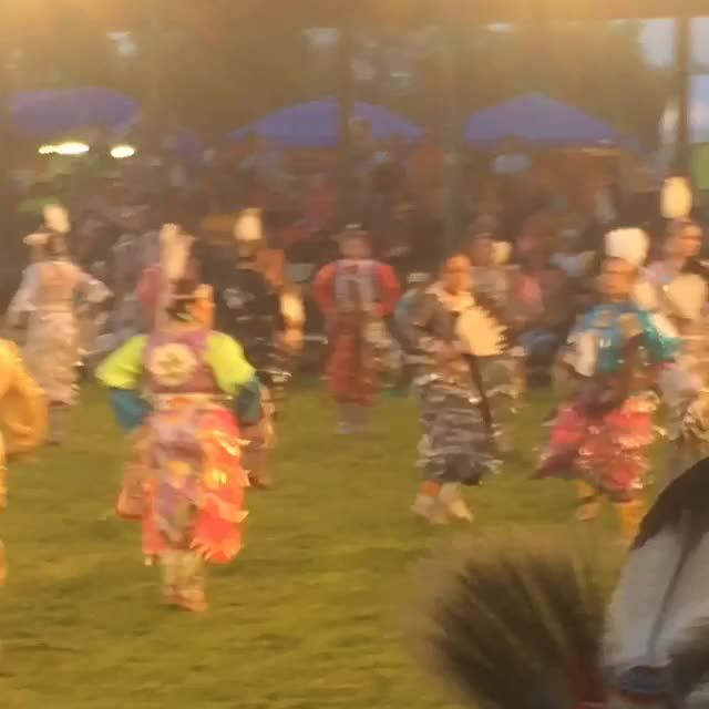 """muzikfaze: """"Little Shell Powwow 2014 Jingle Dress dancers """""""