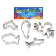 Cookie Cutters Under The Sea, Rust Resistant & Dishwasher Pkt5 $36.95 CCP006