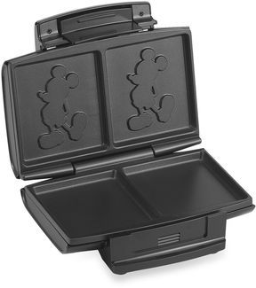 Disney Classic Mickey Mouse Sandwich Maker. Need this!!!! Please!!!