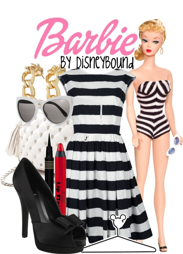 """Barbie 1959"" by lalakay on Polyvore"