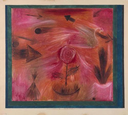 Ares y Klee: expresionismo en estado puro