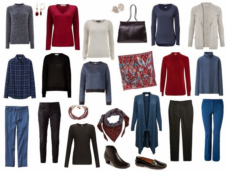 The Vivienne Files: A 4 by 4 Wardrobe in Burgundy, Pearl Grey, Black and Petrol Blue