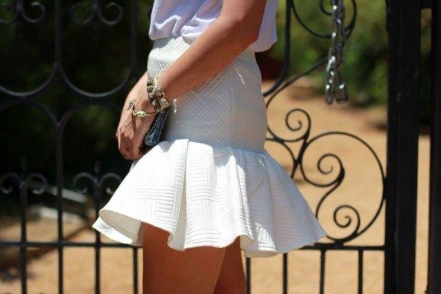 DIY this --- trumpet skirt (2 ways)