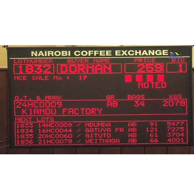 Coffee processing and selling is centralised in Kenya with coffee from around the country, from different small holders being sold in Nairobi at the Nairobi Coffee Exchange (Image: NTV Kenya)  #FabFactFriday #coffeeiseducational #COTM #CoffeeOfTheMonth #Kenya #KenyaAA #coffee #caffeine #coffeeaddict #coffeelovers #freshlyroasted #coffeebeans #qualitybeans #zabucoffee #coffeetime #coffeebreak
