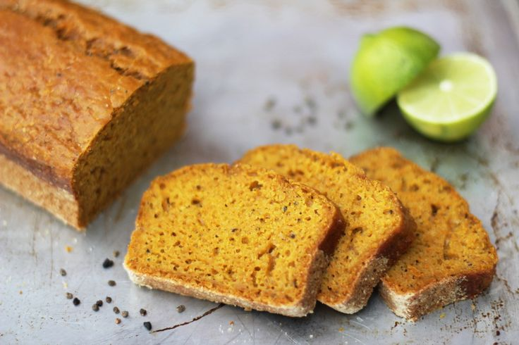 Frukostkaka: Morotskaka med lime och kardemumma.