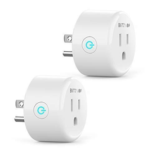 Smart Plug Compatible with Alexa Google Home BlitzWolf Mini