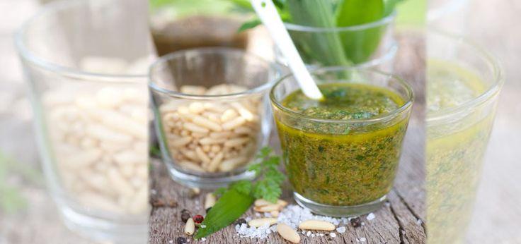 Bärlauch-Pesto selber machen