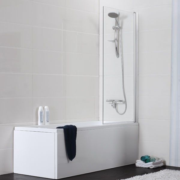 Stora badrummet. Badkar Noro Single med Duschvägg - Standardbadkar - Badkar - Bygghemma.se