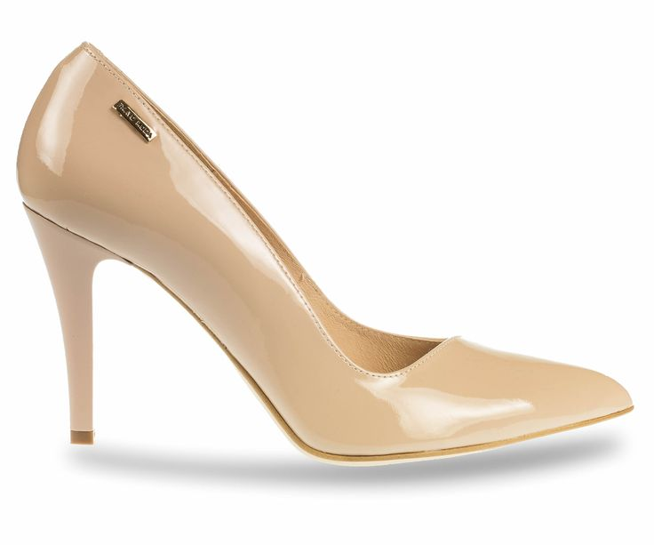 Beautiful leather shoes with high heels. Every elegant woman must have them in her wardrobe!