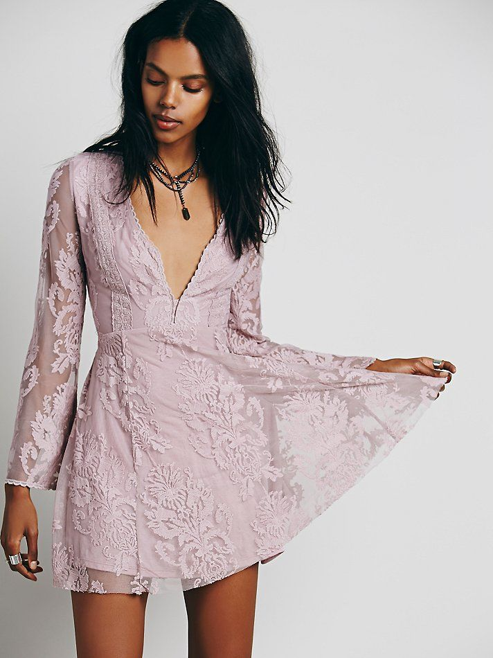 Free People Reign Over Me Lace Dress at Free People Clothing Boutique - For daggy's wedding?