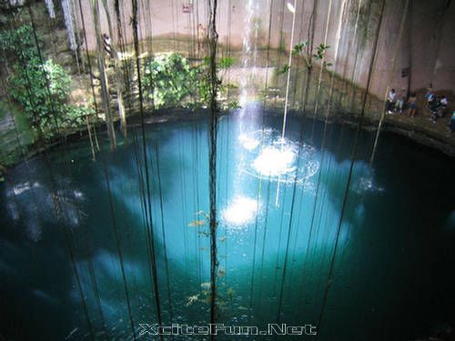 Cenote Natural Pools of Groundwater  Yucatan Mexico