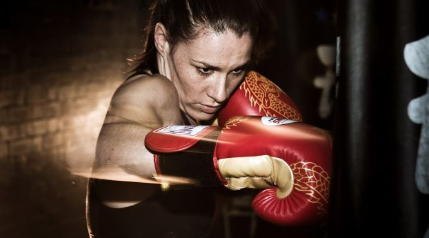 Sports Boxing Girl