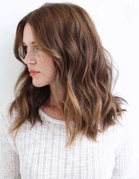 Trendy Casual Hairstyles 2018 For Women Wavy Hairstyles Medium Wavy Haircuts Medium Hair Styles