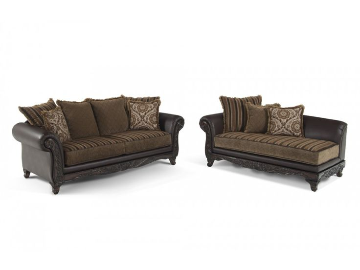 Venice Sofa & Chaise | Living Room Sets | Living Room | Bob\'s ...