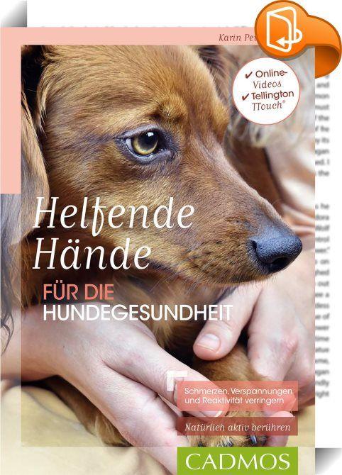 Helfende Hände für die Hundegesundheit    :  Hunde mit akuten oder chronischen Problemen, die ihnen Schmerzen bereiten, sind oftmals reaktiver und wirken gestresst. Die tierärztliche und physiotherapeutische Behandlung sind wichtig und gut, aber gerade die Zeit zwischen den Terminen kann sinnvoll genutzt werden, um eine Verbesserung für den Hund zu bewirken. Der Besitzer hat einen entscheidenden Einfluss auf das Wohlbefinden seines Hundes. Indem er selbst Ruhe ausstrahlt, kann er beisp...