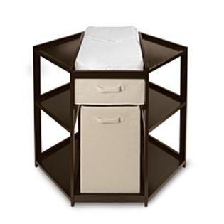 Overstock.com -Espresso Corner Changing Table