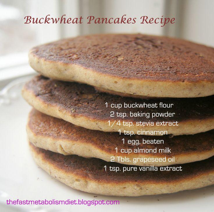 buckwheat pancake #phase1 #fastmetabolismdiet