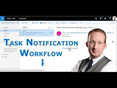 *SharePoint Workflow for High Prio Task Notification* Create a SharePoint workflow that sends an e-mail to the assignee when a high priority task has been created: http://www.kalmstrom.com/Tips/SharePoint-Online-Exercises/Notifications-Workflow.htm