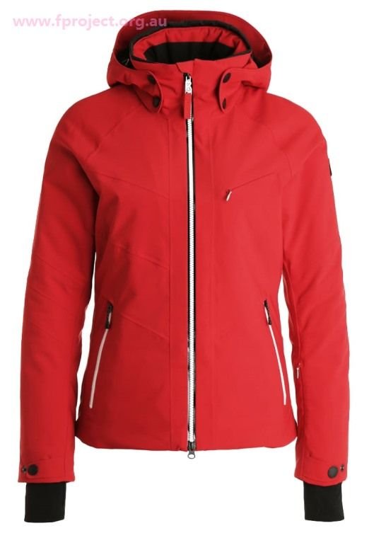 Bogner Fire + Ice Womens Snowboard Jackets - Sierra - Ski Jacket - Red