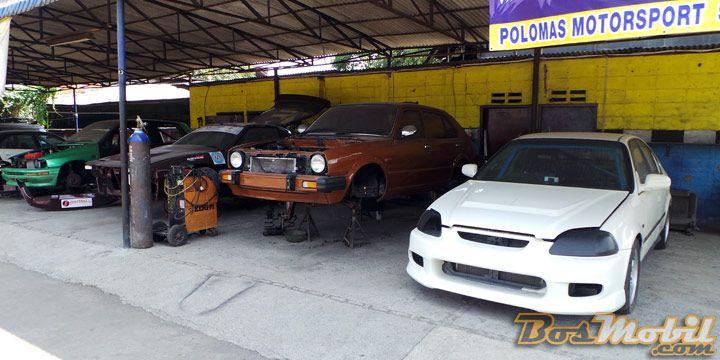 Polomas Motorsport : Bengkel Balap Kawakan Segudang Pengalaman #BosMobil
