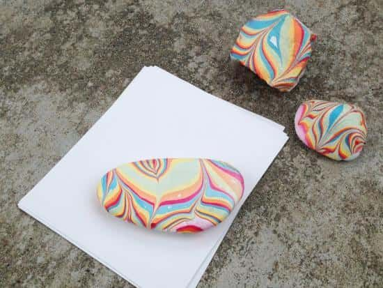 Marbled Paperweight