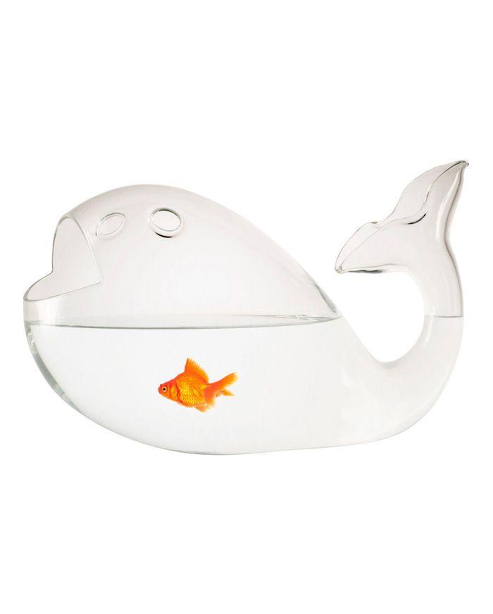 Whale fish bowl