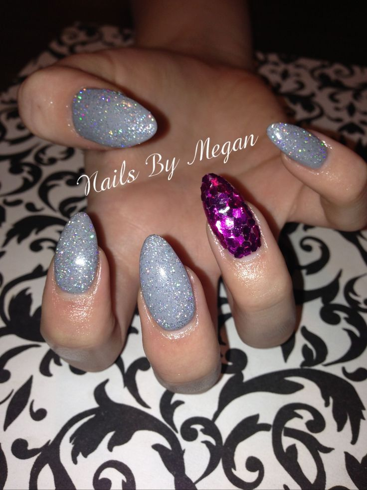 Day 174: Sequin Accent Nail Art