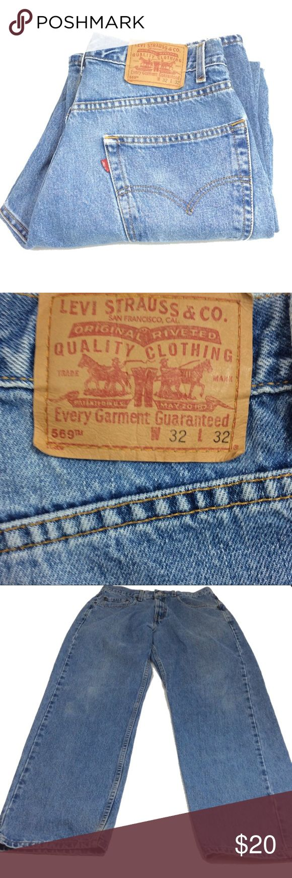 Levi's 569 loose straight fit 32/32 Levi's 569 loose straight fit  32/32 made of 100% cotton Levi's Jeans Straight