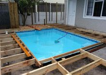 17 best images about home renovation ideas on pinterest for Best timber to use for decking around a pool