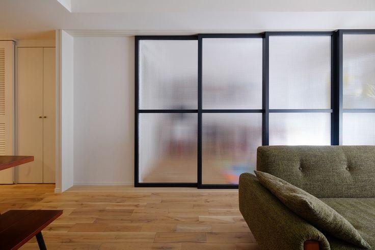 『kuva』――とじる、ひらく | 東京のリノベーション会社・空間社の事例  #リノベーション #ドア