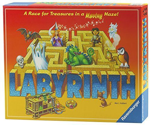 You'll be aMAZED in this intriguing game. Use the Labyrinth board design to create a series of mazes players must move through. The objective is for each player to collect all seven treasures on their...