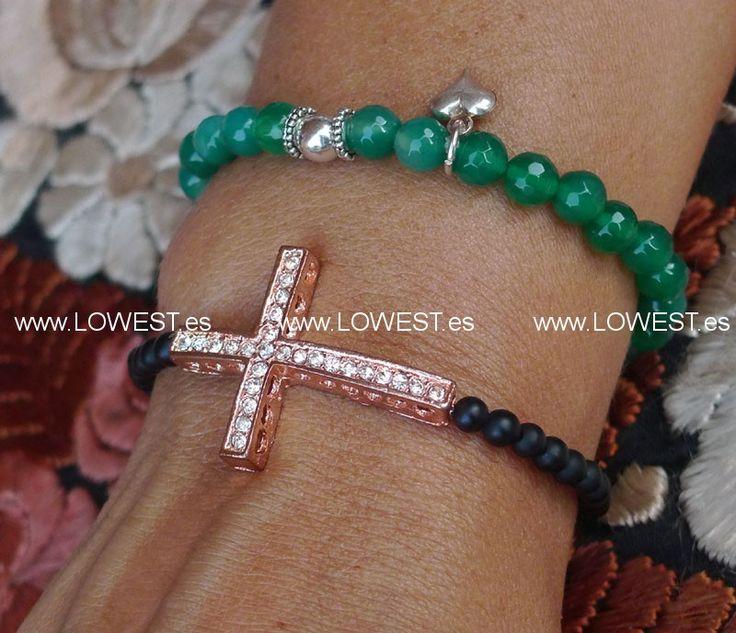 Resultado de imagen de collares y pulseras con cruces