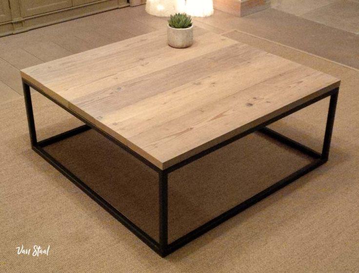 Steigerhouten meubelen op maat - Van Staal helpt graag uw ideeën realiseren. Vraag een vrijblijvende offerte aan op: www.vanstaal.be
