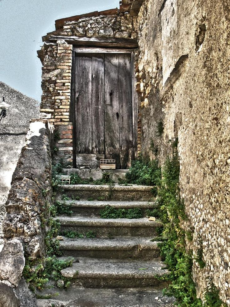 typical old house Calabrese by Cesare Vatrano