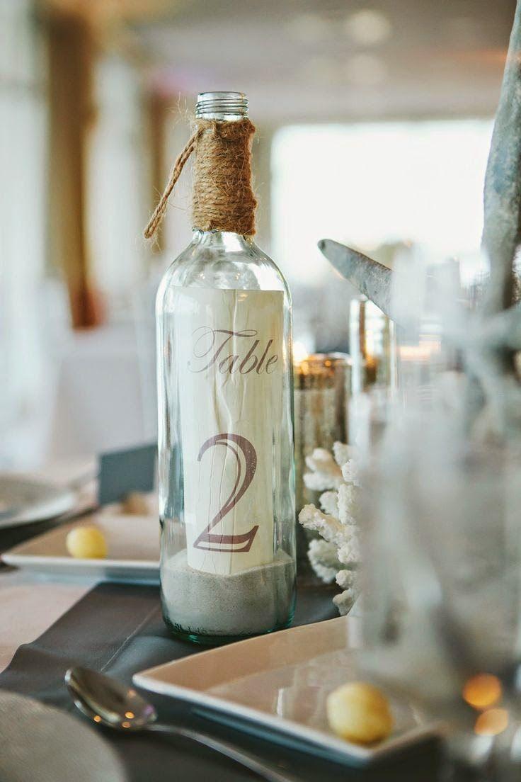 9 centros de mesa para bodas en la playa