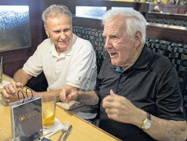 Notre Dame coach Ara Parseghian is still going strong