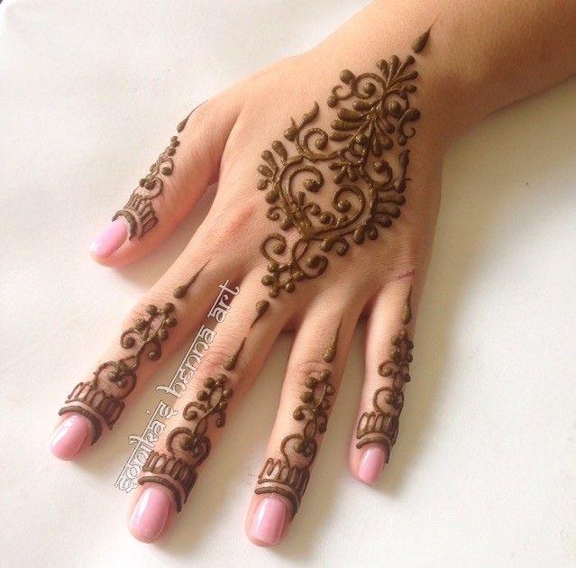 Cute Simple Henna Tattoos: 56 Best Mehndi Images On Pinterest