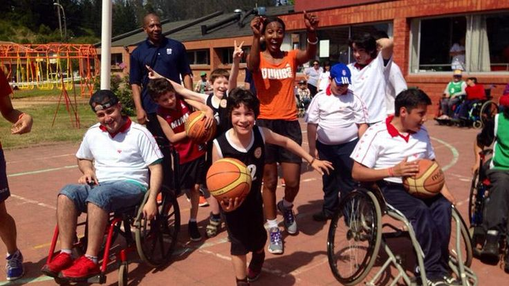 """Candice Wiggins is """"Chillin' In Chile ."""" She is with the U.S. Embassy Santiago along with the NBA and WNBA stars that teamed up for an educational and sports diplomacy envoy in Chile. Read her blog."""