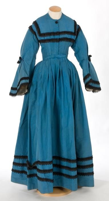 Day dress ca. 1850's