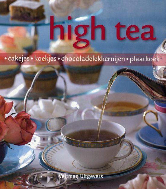 Eigenlijk is een koekje of cakeje op elk moment lekker: 's ochtends bij de koffie of 's middags bij een kop thee. De uitgebreide verzameling overheerlijke en oogstrelende cakejes, repen en koekjes in dit boek biedt u een perfect excuus om de eeuwenoude Engelse high tea-traditie nieuw leven in te blazen. Stof uw mooiste porselein af, poets uw zilveren taartschep, strijk uw beste linnen servetten en maak er een bijzonder moment van.