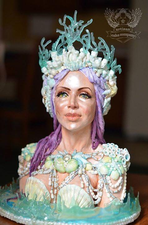 Mermaid Queen Cake - Artisan Cake Company